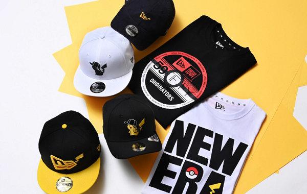 New Era x《宝可梦》2020 夏季联乘系列发售,标志 logo