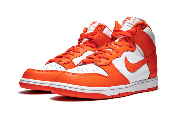 """耐克 Dunk Hi""""Syracuse""""橙白配色鞋款明年发售,OG 复古感"""