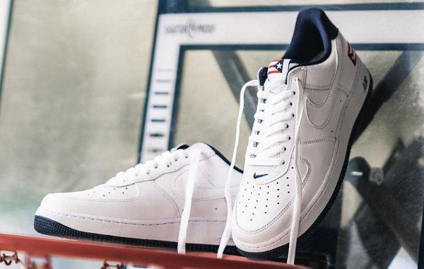 """Nike Air Force 1""""波多黎各""""主题鞋款下周发售,点缀国旗"""