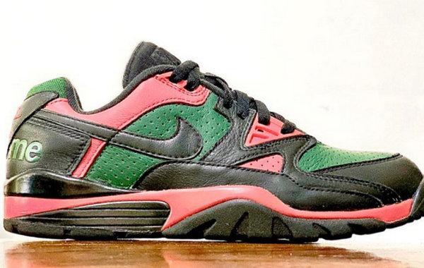 Supreme x Nike Air Cross Trainer 3 Low 联乘鞋款今夏发售~