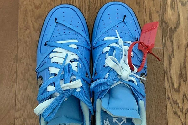 OFF-WHITE x Nike 全新联名 Air Force 1 Low 鞋款曝光