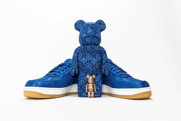 CLOT x 耐克 x MEDICOM TOY 联名蓝丝绸套装发售详情来袭,绝对重磅