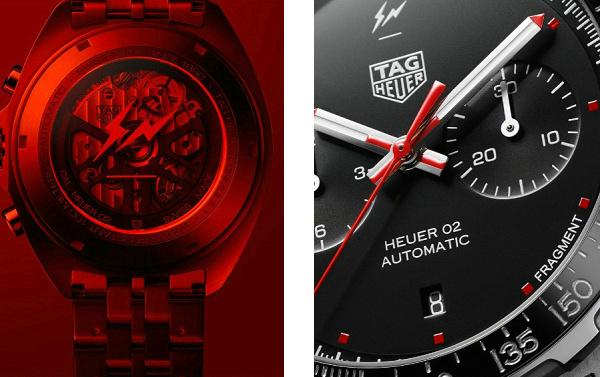 藤原浩小闪电 x TAG Heuer 联乘腕表发布,限量 500 块