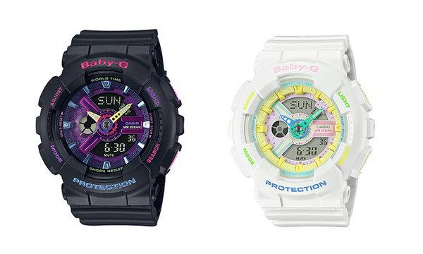 BABY-G 全新原宿主题腕表系列曝光,本月登陆