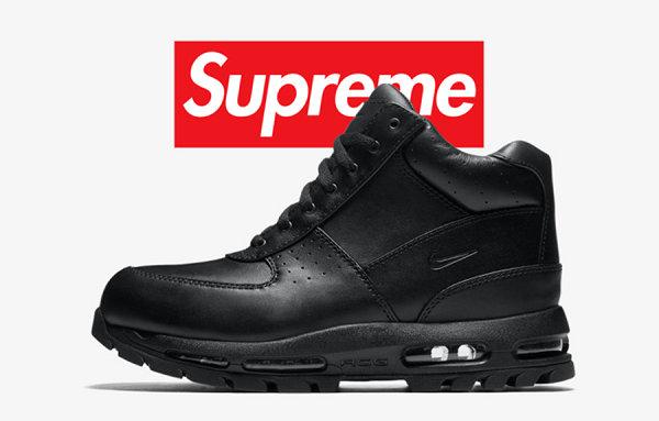 Supreme x 耐克联名 Air Max Goadome 鞋款疑似曝光