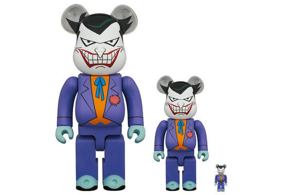 MEDICOM TOY 全新「Joker小丑」BE@RBRICK 玩偶上架发售
