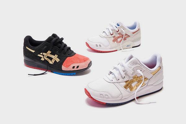 亚瑟士 x KITH 全新联名「Tokyo Trio」系列鞋款即将上架