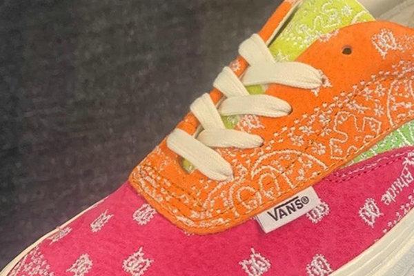 RHUDE x Vans Vault 全新联名系列鞋款即将上架,明星挚爱!