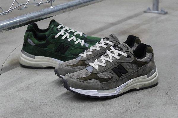 新百伦 x JJJJound 联名 992 鞋款系列官图及发售详情释出