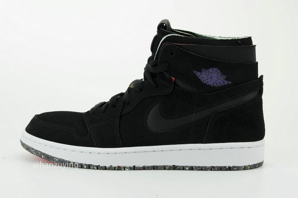 "AJ1 High Zoom 鞋款全新""Court Purple""配色释出,超高规格~"