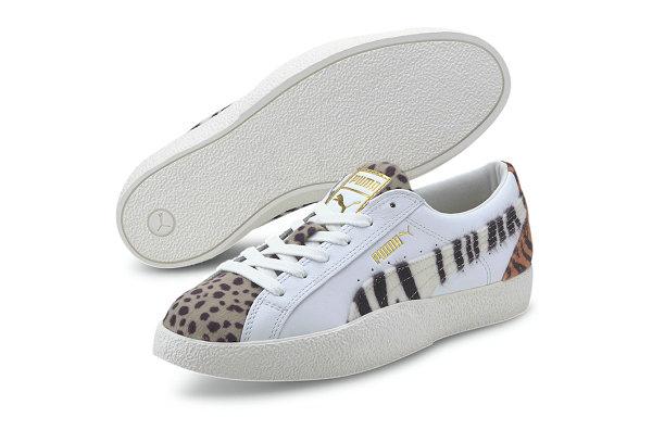 """彪马 Love 全新""""Wildcats""""动物纹理鞋款海外发售"""