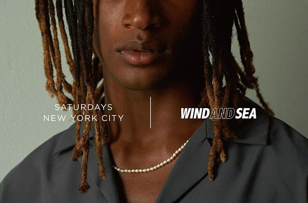 WIND AND SEA x Saturdays NYC 全新联名预告来袭