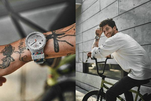 Bape x Swatch 联名系列腕表第二弹上架发售,意外之喜