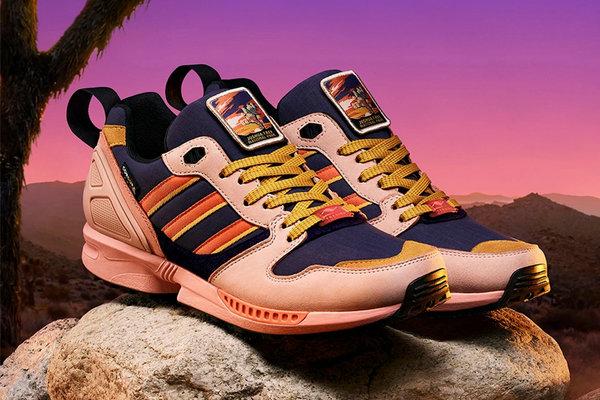 阿迪达斯 x NPF 全新联名 ZX 5000 鞋款释出,颜值不俗