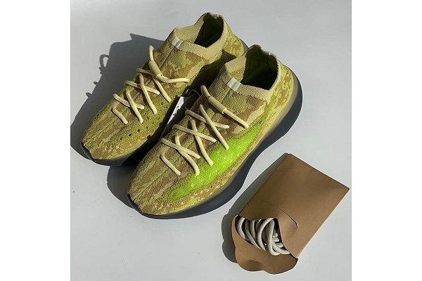 "YEEZY 380 全新""Calcite Glow""黄绿夜光鞋实物首次曝光"