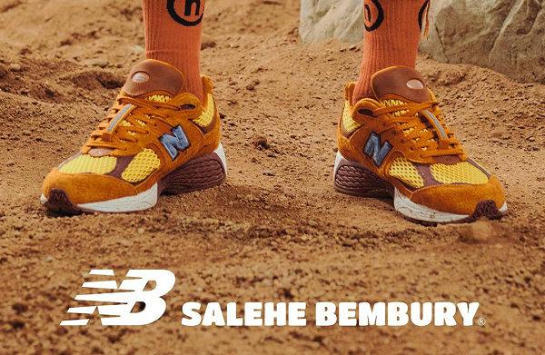 新百伦 x Salehe Bembury 联名 2002R 鞋款发售详情公布