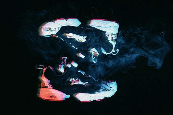 锐步 x PHANTACi x DEAL 联名 Instapump Fury 鞋款及服饰系列亮相