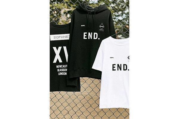 日潮 F.C.R.B. x END. 15 周年联名限定系列发售在即,徽标元素~
