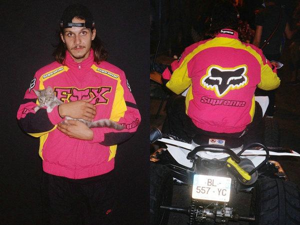 Supreme x Fox Racing 全新联名秋冬系列即将上架