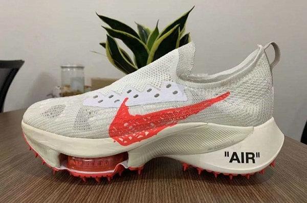 Off-White 联名 Air Zoom Tempo Next% FK 鞋款系列实物首次曝光