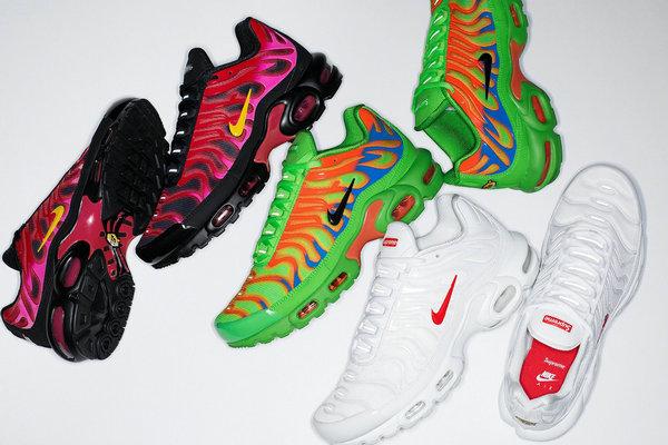 Supreme x Nike 联名 Air Max Plus 秋冬系列鞋款即将上架