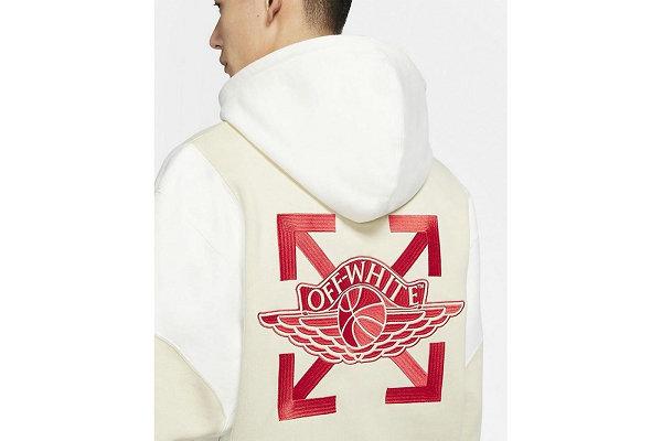 Off-White x Jordan 全新联名服饰系列谍照释出,插画点缀