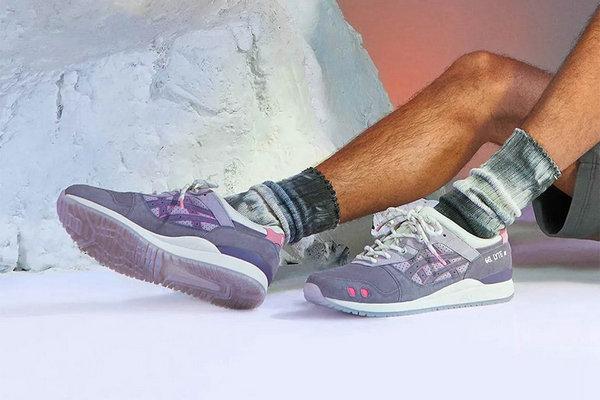 亚瑟士 x END 全新联名 Gel Lyte III 鞋款即将上架