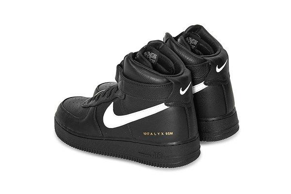 耐克 x 1017 ALYX 9SM 全新联名 AF1 High 鞋款抢先预览