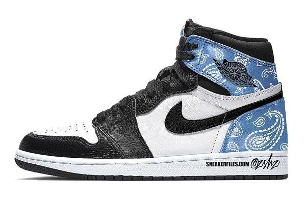 """腰果花 Air Jordan 1""""Paisley""""配色鞋款预计 2021 年发售"""