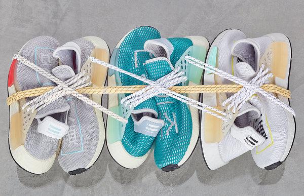 菲董联名 NMD HU 地区限定配色鞋款系列亮相,借鉴椰子经验?