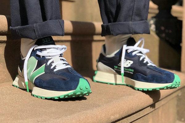 新百伦 x Public School 全新联名 327 鞋款曝光