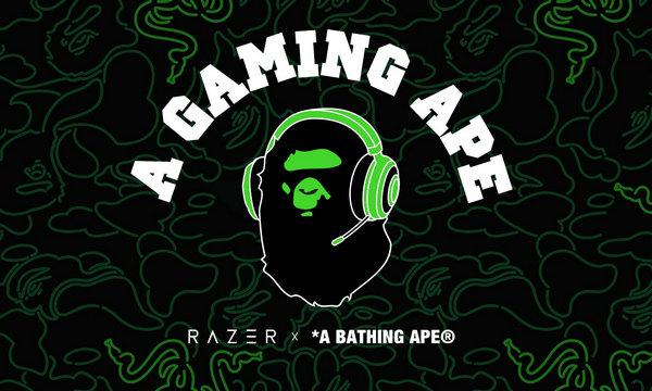 BAPE x Razer 全新跨界联乘企划正式曝光,电竞猿?