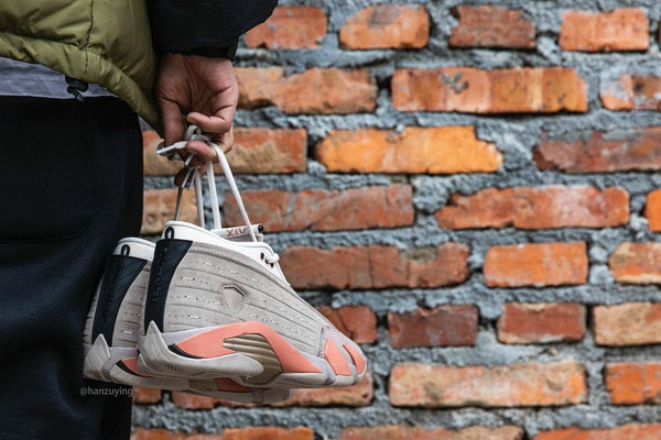 CLOT x Air Jordan 14 Low 联名鞋款上脚图赏析