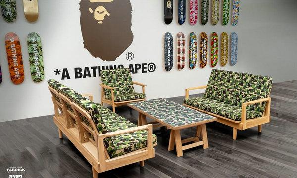 Bape 全新 BAPE® HOME 家居支线登陆,发售单品现已上架