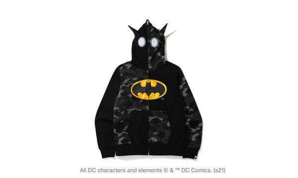 BAPE x DC COMICS 全新联乘系列释出,二次元气息