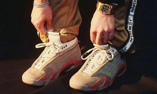 CLOT x Air Jordan 14 Low 联名鞋款发售日期公布
