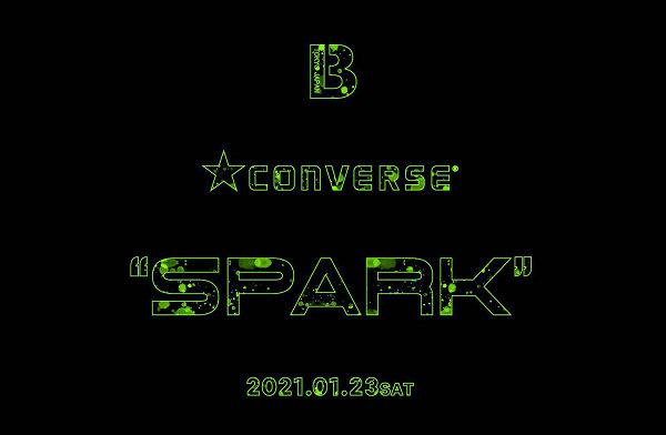 """匡威 x BILLY'S 全新联名""""Spark""""夜光系列即将登场"""