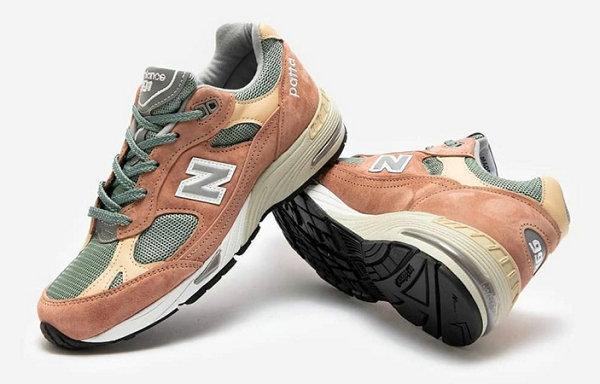 Patta x 新百伦全新联名 991 鞋款抢先预览,神似兵马俑?