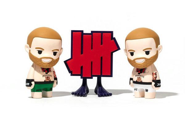 UNDEFEATED x KOKIES 全新联名「Conor McGregor」限量公仔释出