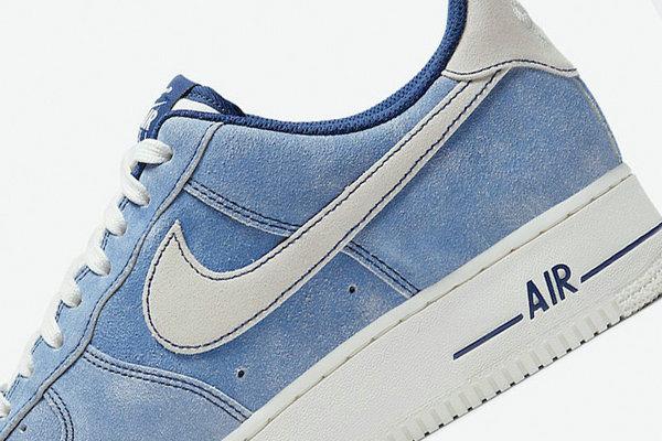 水洗绒面 Air Force 1 Low 鞋款曝光,高级质感