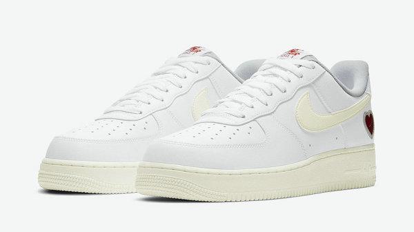 情人节限定 Air Force 1 Low 鞋款即将上架