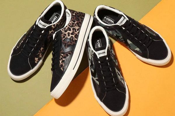 匡威 Proride SK OX 鞋款全新迷彩、豹纹双色释出