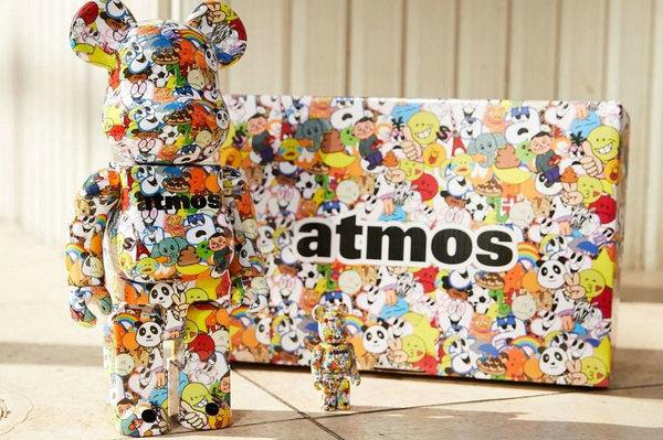 Medicom Toy x atmos 全新联名 BE@RBRICK 玩偶系列-1.jpg