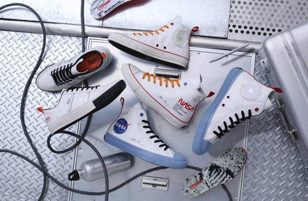 匡威 x NASA 联名主题鞋款系列即将来袭,橙/蓝色调为主