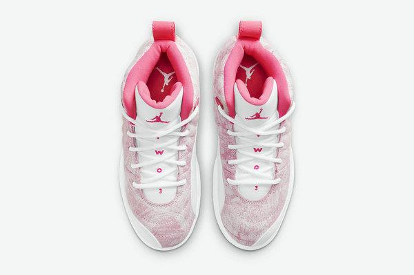 """白粉 AJ12 GS 全新""""Arctic Punch""""配色鞋款发售详情曝光"""