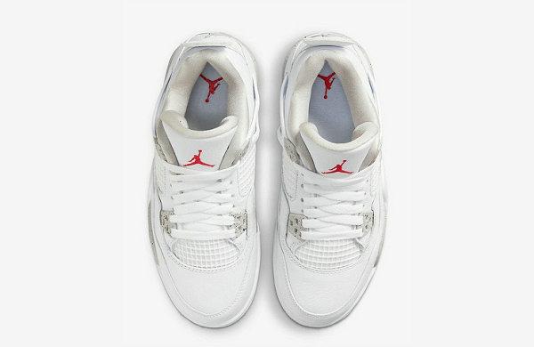 """白奥利奥 AJ4""""White Oreo""""鞋款官图及发售详情揭晓"""