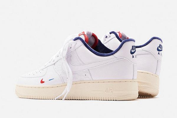 法国限定 KITH x Air Force 1 联乘鞋款明日登陆