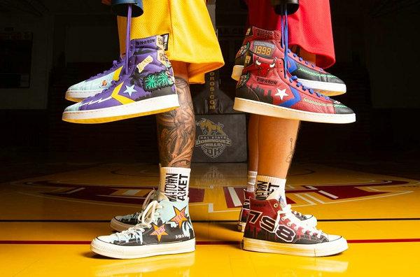 Chinatown Market x 匡威 x NBA x Jeff Hamilton 联名鞋款系列亮相