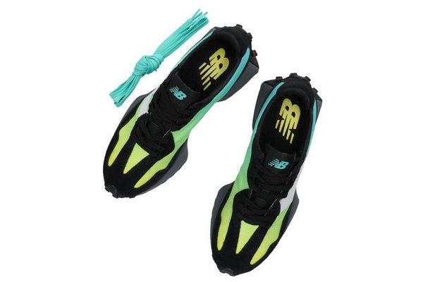 新百伦 327 鞋款全新青黄渐变配色登陆,层次感十足