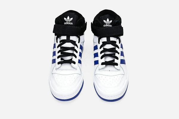 "阿迪达斯 Forum Mid 全新""Royal Blue""配色鞋款发售"